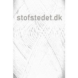 Blend-Tendens Bomuld/akryl garn i Hvid-20