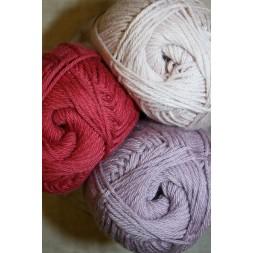 Blend Hjerte Bomuld/acryl garn pudder-rosa lyng-20