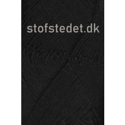 Blend-Tendens Bomuld/akryl garn i Sort-20