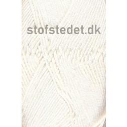 Blend Bamboo-/bomuldsgarn i Off-white | Hjertegarn-20