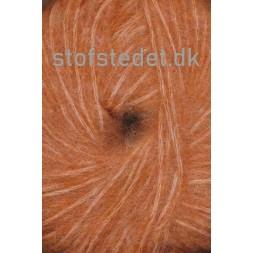 Børstet uld fra Hjertegarn i brændt orange-20