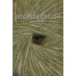 Børstet uld fra Hjertegarn i oliven-20