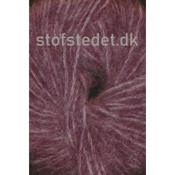 Børstet uld fra Hjertegarn i vinrød-20