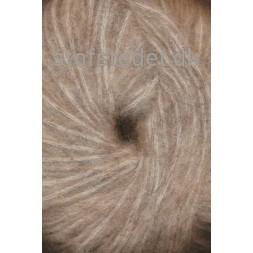Børstet uld fra Hjertegarn i beige-20