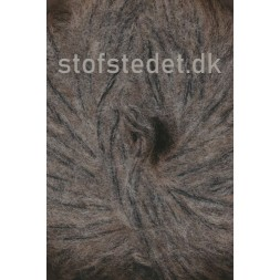 Børstet uld fra Hjertegarn i grå-20