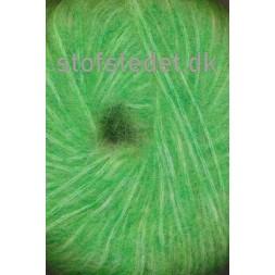 Børstet uld fra Hjertegarn i klar grøn-20