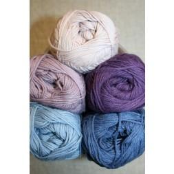 Bomuldsgarn Cotton 8 i støvede farver