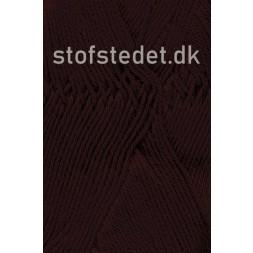 Cotton 8 Hjertegarn i Mørke brun-20