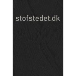 Cotton 8/8 fra Hjertegarn i Sort-20