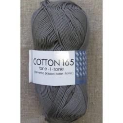Bomuldsgarn Cotton 165 tone-i-tone i grå-brun-20