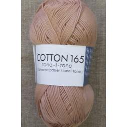 Bomuldsgarn Cotton 165 tone-i-tone i lys støvet laks-20