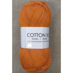 Bomuldsgarn Cotton 165 tone-i-tone i orange-20