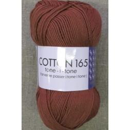 Bomuldsgarn Cotton 165 tone-i-tone i støvet rust-20