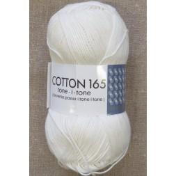 Bomuldsgarn Cotton 165 tone-i-tone i offwhite-20