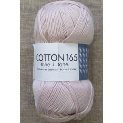 Bomuldsgarn Cotton 165 tone-i-tone i lys pudder-rosa-20