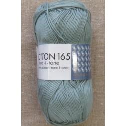 Bomuldsgarn Cotton 165 tone-i-tone i vand-grøn-20