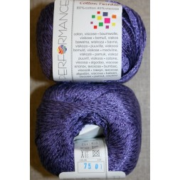 Garn Cotton Twinkle bomuld/viskose i lilla-20