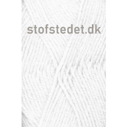 Deco acryl/uld i Hvid | Hjertegarn-20