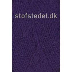 Deco acryl/uld i Mørkelilla | Hjertegarn-20