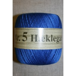 Nr. 5 Hæklegarn, koboltblå-20