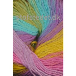 Incawool lys turkis/lime/lilla-20