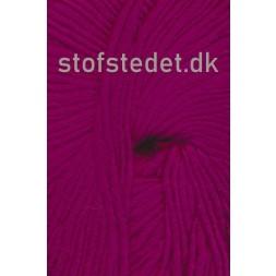 Incawool i 100% uld fra Hjertegarn i mørk pink/cerisse-20
