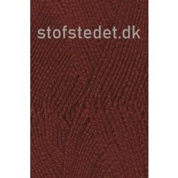 Lana Cotton 212 Uld-bomuld i Meleret Rødbrun-20