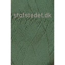 Lana Cotton 212 Uld-bomuld i Støvet grøn-20