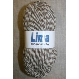 Lima 2-farvet off-white-lysebrun-20