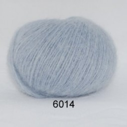 Hjerte Light Mohair fv. 6014 i støvet babylyseblå-20