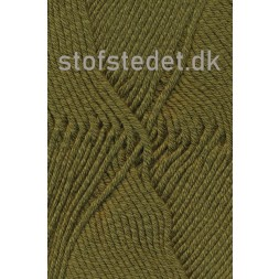 Merino Cotton Uld/bomuld i Army-20