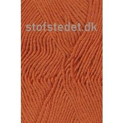 Hjertegarn | Merino Cotton Uld/bomuld i Lys brændt orange-20