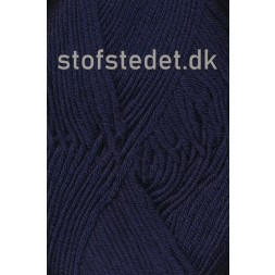 Hjertegarn | Merino Cotton Uld/bomuld i Mørkeblå-20