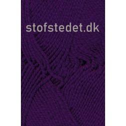 Hjertegarn | Merino Cotton Uld/bomuld i Mørkelilla-20