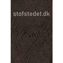 Hjertegarn | Merino Cotton Uld/bomuld i Mørke brun-20
