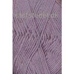 Hjertegarn | Merino Cotton grå-lyng fv.3906-20
