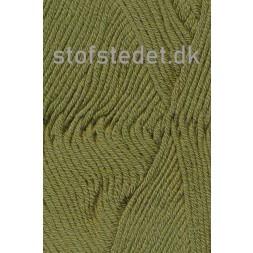 Merino Cotton Uld/bomuld i Oliven-20