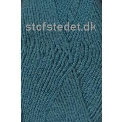 Hjertegarn | Merino Cotton Uld/bomuld i Petrol/grøn-20