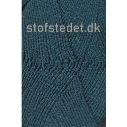 Hjertegarn | Merino Cotton Uld/bomuld i Mørk petrol-grøn-20