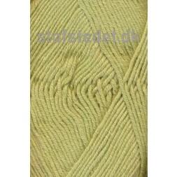 Hjertegarn Merino Cotton lys gul-grøn fv.525-20