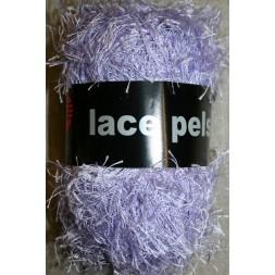 Lace Pels, lyselilla effektgarn-20