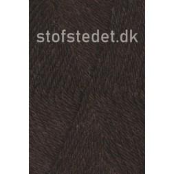 Ragg strømpegarn i mørkebrun-20