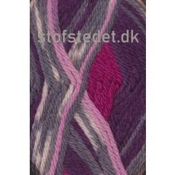 Ragg strømpegarn i rosa, bordeaux, grå-lyng og off-white-20