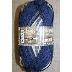 Ragg strømpegarn i blå, mørkeblå, grå og off-white-20