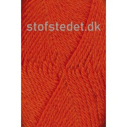 Ragg strømpegarn i orange-20