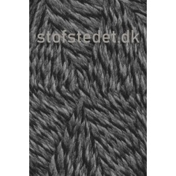 Ragg strømpegarn meleret i grå, lysegrå og sort-20