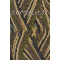 Ragg strømpegarn i Camouflage army, oliven og brun-20