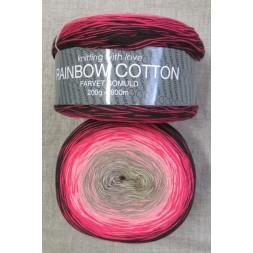 Rainbow Cotton 100% bomuld i sort rød lyserød sand-20
