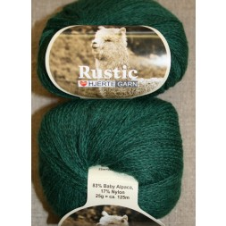 Rustic Baby Alpaca, flaskegrøn-20