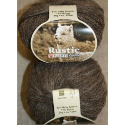Rustic Baby Alpaca, grå-brun-20